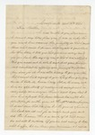 """Letter from S. H. Harris to """"Dear Brother."""" 11 March 1867 by S. H. Harris"""