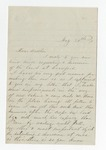 """Letter from S. H. Harris to """"Dear Brother."""" 9 June 1867 by S. H. Harris"""