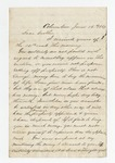 """Letter from S. H. Harris to """"Dear Brother."""" 5 July 1867 by S. H. Harris"""