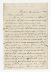 """Letter from S. H. Harris to """"Dear Brother."""" 25 July 1867 by S. H. Harris"""