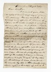 Letter from David G. Parker to Thomas W. Harris. 14 September 1867 by David G. Parker