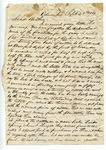 """Letter from S. H. Harris to """"Dear brother."""" 25 September 1867 by S. H. Harris"""