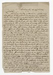 """Letter from S. H. Harris to """"Dear Brother."""" 14 November 1867 by S. H. Harris"""
