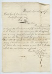 Letter from Charles McLaran to Thomas W. Harris. 11 January 1868 by Charles McLaran