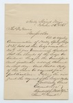 """Letter from S. H. Harris to """"Dear Brother. 1 August 1868 by S. H. Harris"""