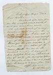 Letter from Calvin Shaffer to Thomas W. Harris. 24 November 1869 by Calvin Shaffer