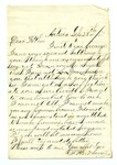 """Letter from S. H. Harris to """"Dear Brother."""" 6 October 1871 by S. H. Harris"""