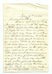 """Letter dated from """"Sallie"""" to """"My Dear Brother."""" 28 April 1872 by Author Unknown"""