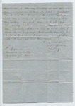Letter from L. F. to Mr. Craig. September 1871 by Author Unknown