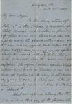 Gen. Joseph E. Johnston to Kinloch Falconer (21 October 1867) by Joseph E. Johnston and Kinloch Falconer