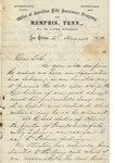 Braxton Bragg to Kinloch Falconer (2 August 1870) by Braxton Bragg and Kinloch Falconer