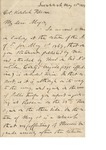 Gen. Joseph E. Johnston to Kinloch Falconer (25 May 1874) by Joseph E. Johnston and Kinloch Falconer