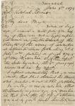 Gen. Joseph E. Johnston to Kinloch Falconer (4 June 1874) by Joseph E. Johnston and Kinloch Falconer