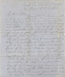 William C. Nelson to J. H. Nelson (April 1864) by William Cowper Nelson