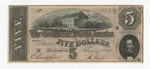 Series 10. Money and Scrip: Box 10: Folder 1. Confederate Currency: Scan 1 by Confederate States of America