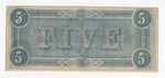 Series 10. Money and Scrip: Box 10: Folder 1. Confederate Currency: Scan 2 by Confederate States of America
