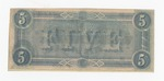 Series 10. Money and Scrip: Box 10: Folder 1. Confederate Currency: Scan 16 by Confederate States of America