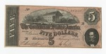 Series 10. Money and Scrip: Box 10: Folder 1. Confederate Currency: Scan 17 by Confederate States of America