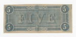 Series 10. Money and Scrip: Box 10: Folder 1. Confederate Currency: Scan 14 by Confederate States of America