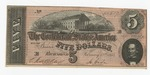 Series 10. Money and Scrip: Box 10: Folder 1. Confederate Currency: Scan 19 by Confederate States of America