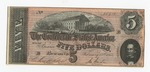 Series 10. Money and Scrip: Box 10: Folder 1. Confederate Currency: Scan 21 by Confederate States of America