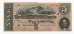 Series 10. Money and Scrip: Box 10: Folder 1. Confederate Currency: Scan 23 by Confederate States of America