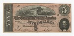 Series 10. Money and Scrip: Box 10: Folder 1. Confederate Currency: Scan 24 by Confederate States of America