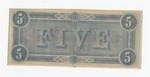 Series 10. Money and Scrip: Box 10: Folder 1. Confederate Currency: Scan 25 by Confederate States of America