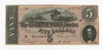 Series 10. Money and Scrip: Box 10: Folder 1. Confederate Currency: Scan 15 by Confederate States of America