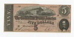 Series 10. Money and Scrip: Box 10: Folder 1. Confederate Currency: Scan 32 by Confederate States of America