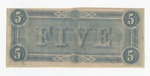 Series 10. Money and Scrip: Box 10: Folder 1. Confederate Currency: Scan 33 by Confederate States of America