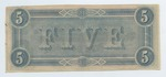 Series 10. Money and Scrip: Box 10: Folder 1. Confederate Currency: Scan 37 by Confederate States of America