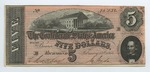 Series 10. Money and Scrip: Box 10: Folder 1. Confederate Currency: Scan 38 by Confederate States of America