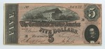 Series 10. Money and Scrip: Box 10: Folder 1. Confederate Currency: Scan 40 by Confederate States of America