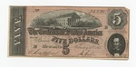 Series 10. Money and Scrip: Box 10: Folder 1. Confederate Currency: Scan 30 by Confederate States of America