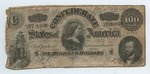 100 dollar bill, Confederate States of America by Confederate States of America