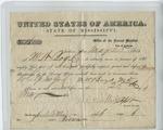 Oath of Allegiance (25 May 1865) by M. W. Boyd