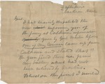Field Dispatch. William Henry Talbot Walker to Unknown Gen. (Undated) by William Henry Talbot Walker (1816-1864)