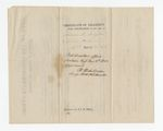 Folder 5: Certificates of Disability for Discharge, 1863: Scan 1 by Author Unknown