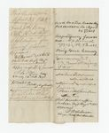Folder 6: Medical Furlough Certificates, 1863: Scan 1 by Author Unknown