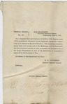 General Orders, no. 126 (U.S. Army. 20 July 1865) by United States. Adjutant-General's Office and E. D. Townsend