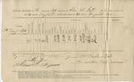 Ration Return (196th O.V.I., Co. E. 24-31 August 1865) by United States. Army. Quartermaster's Dept.
