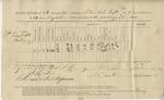Ration Return (196th O.V.I., Co. B. 24-31 August 1865) by United States. Army. Quartermaster's Dept.