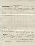 Requisition for Fuel (no. 30). 88th O.V.I. (No. 11, October 1864)