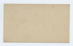Series 9. Miscellaneous Documents and Correspondence: Box 9: Folder 19: Scan 4 by Author Unknown