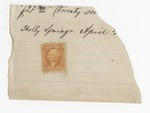 Series 11. Stamps: Box 11: Folder 1. Revenue stamps: Scan 5 by Author Unknown