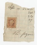 Series 11. Stamps: Box 11: Folder 1. Revenue stamps: Scan 9 by Author Unknown