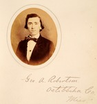 George A. Robertson by University of Mississippi