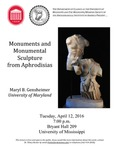 Monuments and Monumental Sculpture from Aphrodisias by Maryl B. Gensheimer, University of Mississippi. Department of Classics, and Archaeological Institute of America