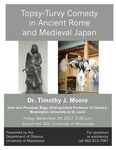 Topsy-Turvy Comedy in Ancient Rome and Medieval Japan by Timothy J. Moore
